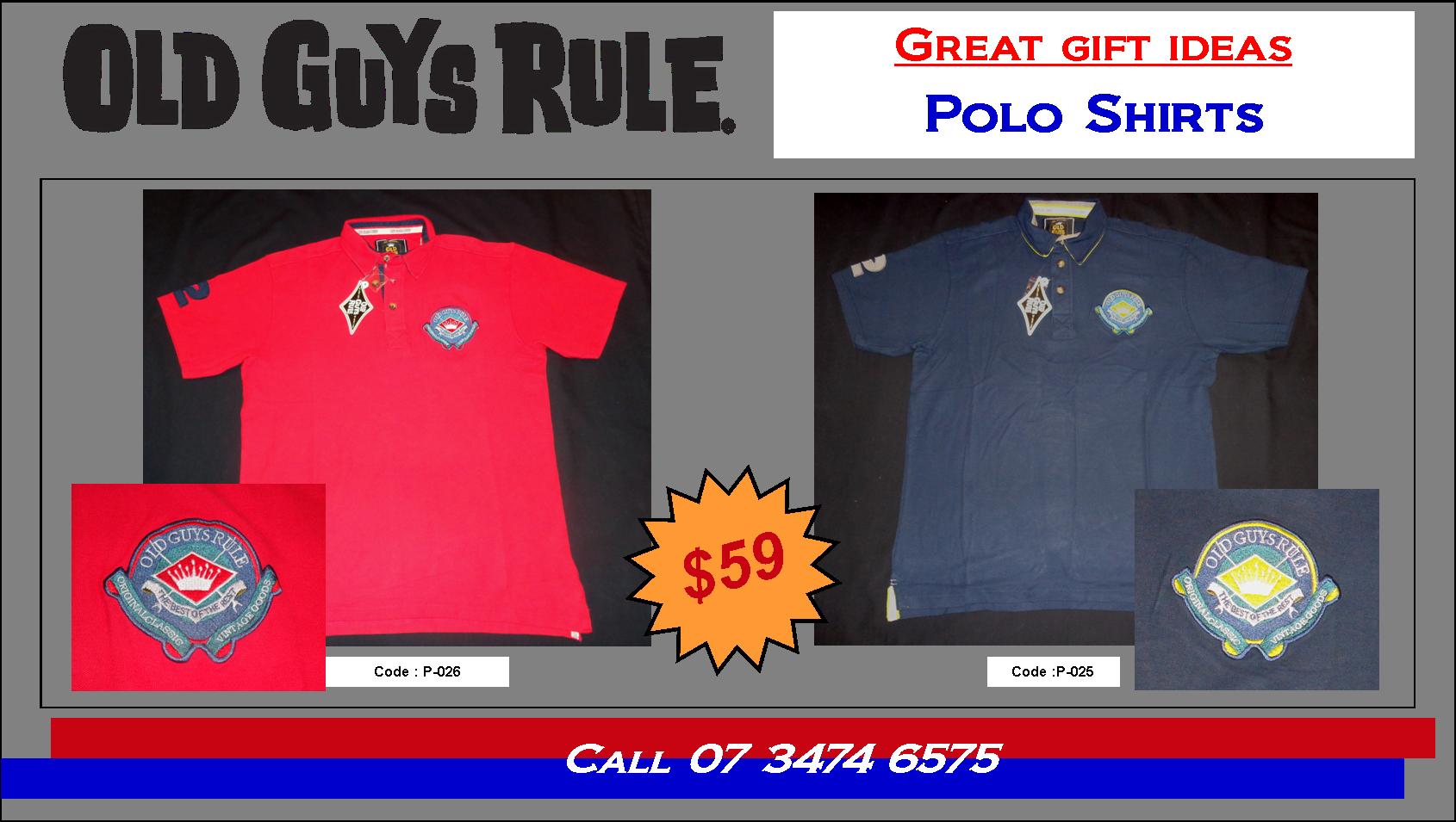 2015 OGR Polos