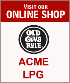 Online Shop - LPG, Old Guys Rules, Acme