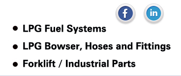 LPG Gas Fuel Systems, LPG GasBowser, LPG Gas Hoses and LPG Gas Fittings, Forklift / Industrial Parts