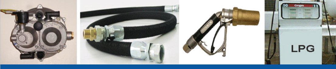 LPG Gas Converters, LPG Gas Fuel Systems, LPG Bowser, Hoses and Fittings, Forklift-Industrial Parts